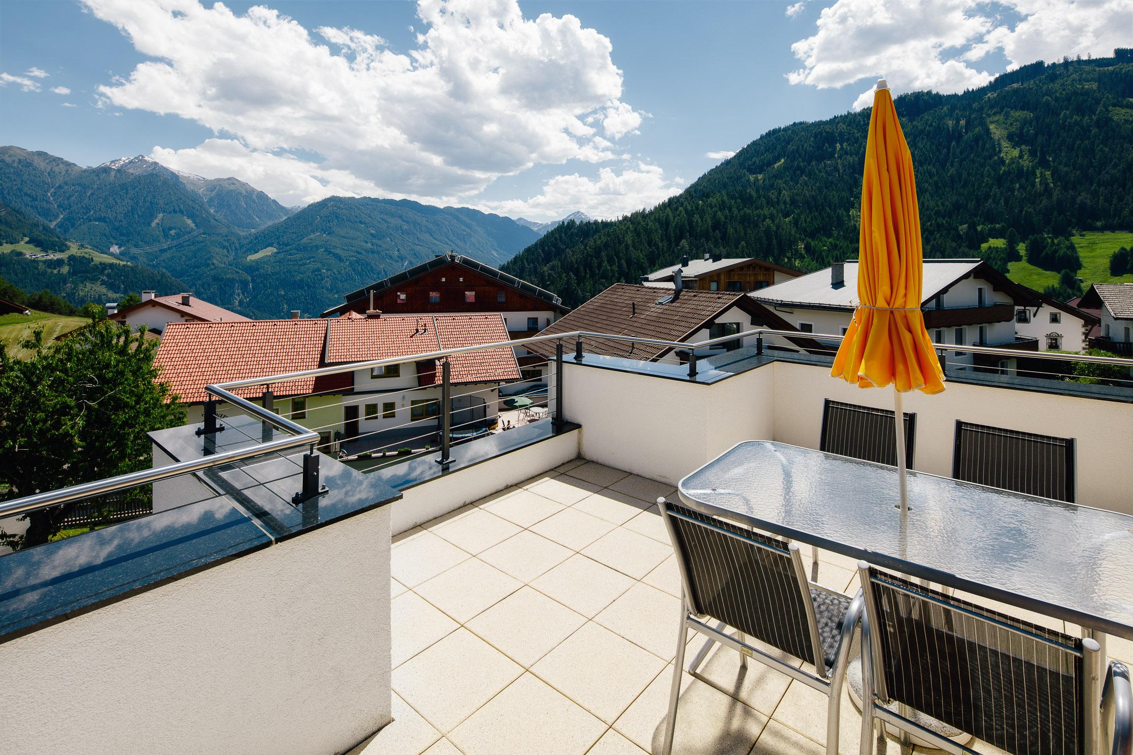 Apartments S-Platzl Terasse