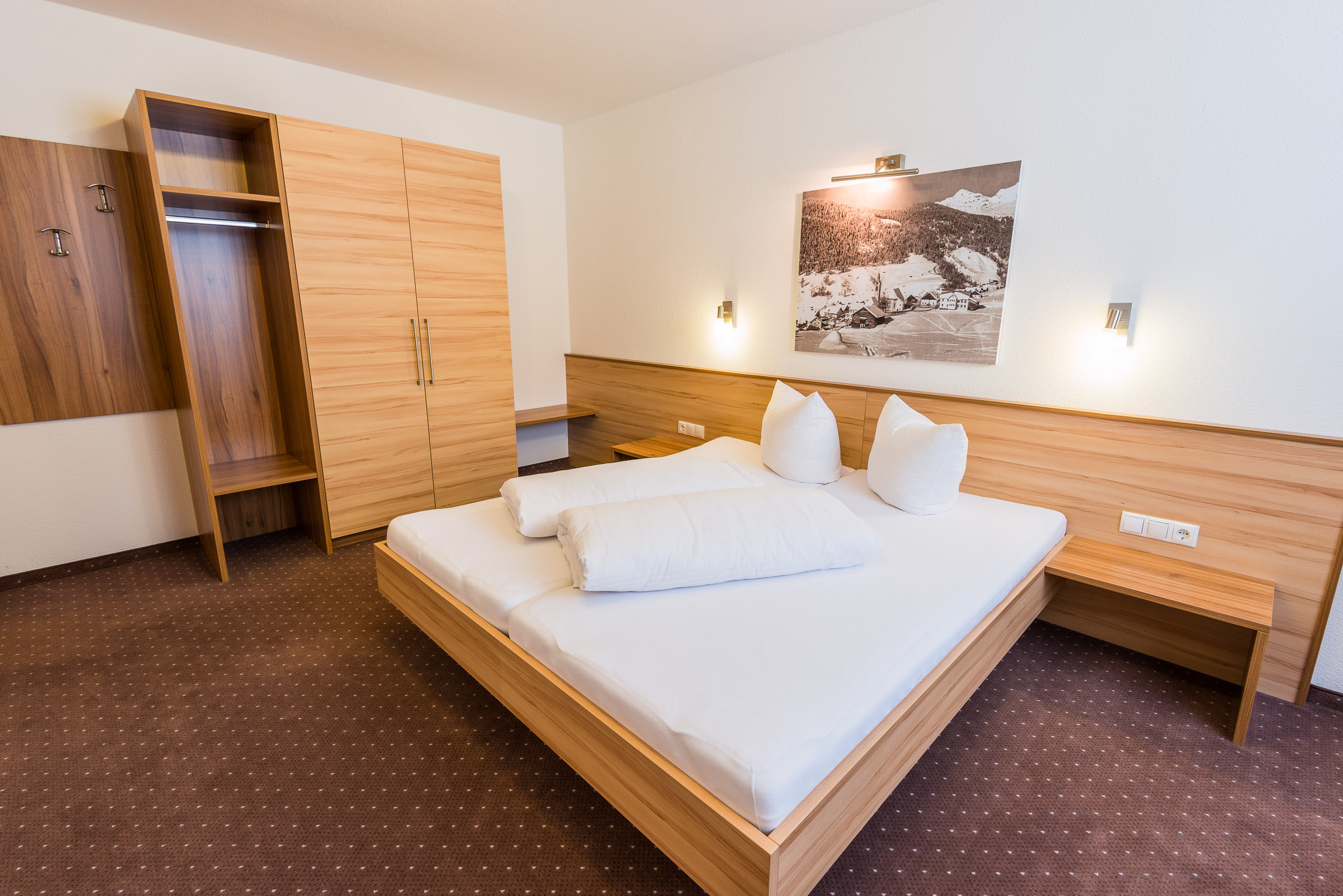 Apartment 1 Doppelbettzimmer